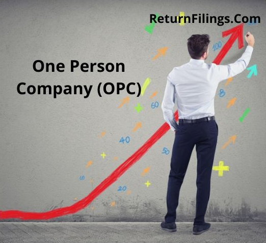 One Person Company OPC Registration, OPC Compliance, OPC Annual Filing, OPC PAN card or OPC Tax, OPC return filing