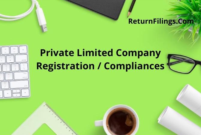 Private Limited Company Pvt Ltd Registration, Private limited Compliance, Private limited Annual Return, Pvt Ltd return