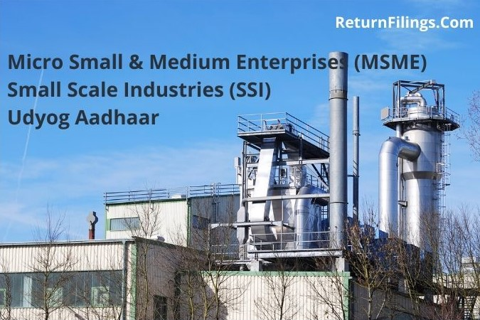 micro small and medium enterprise msme, small scale industries ssi, udyog aadhaar registration, udyog aadhaar application